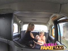 Picture FemaleFakeTaxi Finger-fucking a fit babe