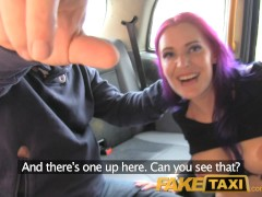 Picture FakeTaxi Filthy hot goth loves anal fucking