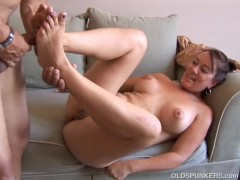Picture Kinky old spunker loves it when you cum in h...