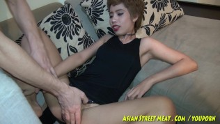 Asian Street Meat XXX  Short Haired Asian Exhibitionist