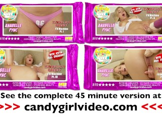 Anabelle Pync 1st time using a fucking machine