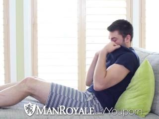 ManRoyale - Abel Archer Caught Jerking to Porn by Derek Sky