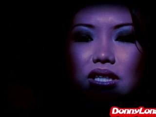Donny Long breaks tiny asian asshole of stupid whore