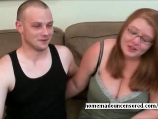 Amateur Chubby BBW Teen Fucking Boyfriends Cock
