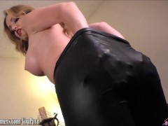 Picture Angela Sommers hot ass riding a dildo
