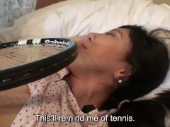 Picture Uncensored Japanese milf affair with tennis...
