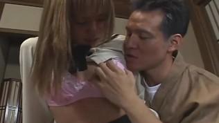 Japanese schoolgirl bizarre spanking and threesome Subtitled