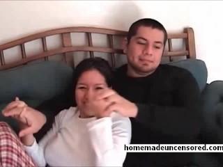 Big tit amateur filipino girlfriend fucked tits