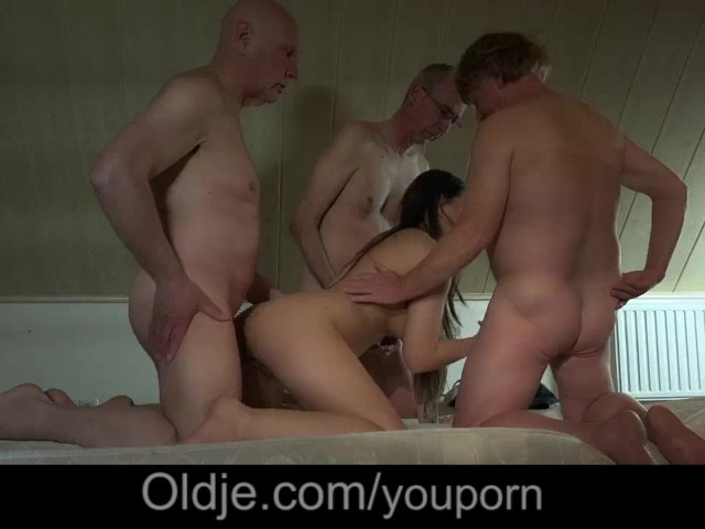 Blonde Gangbang Asian Men