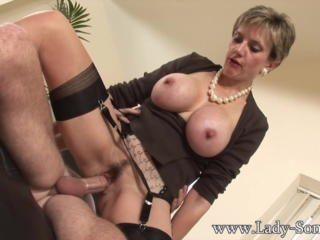 Lady Sonia Fucks 2 Guys Gets Covered in Cum - Free Porn Videos