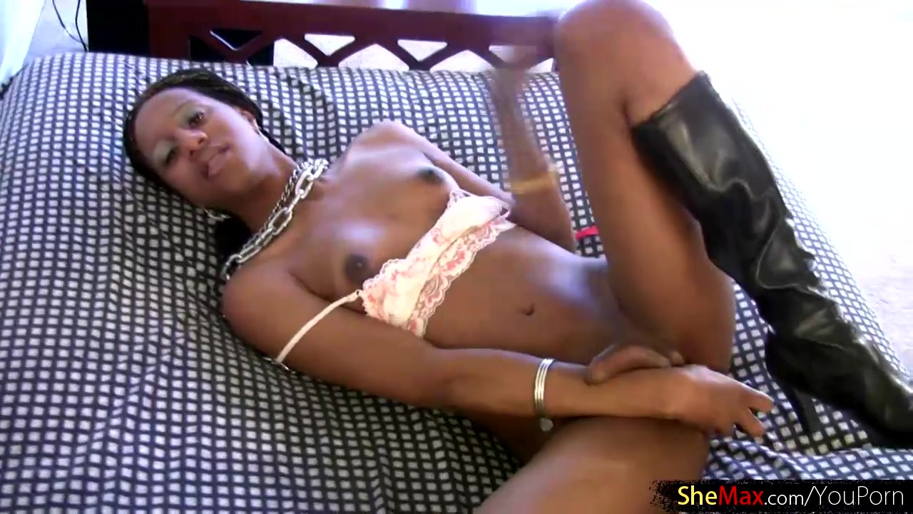 Young black puffy nipples