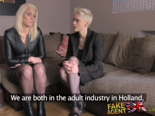 Hd/fakeagentuk porn with threesome models