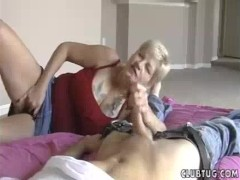 Picture Granny s Handjob While Playing Wet Dripping...