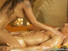 Picture Beautiful Blonde Loving Massage Girlfriend