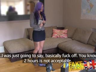 FakeAgentUK Anal play with smoking hot emo babe