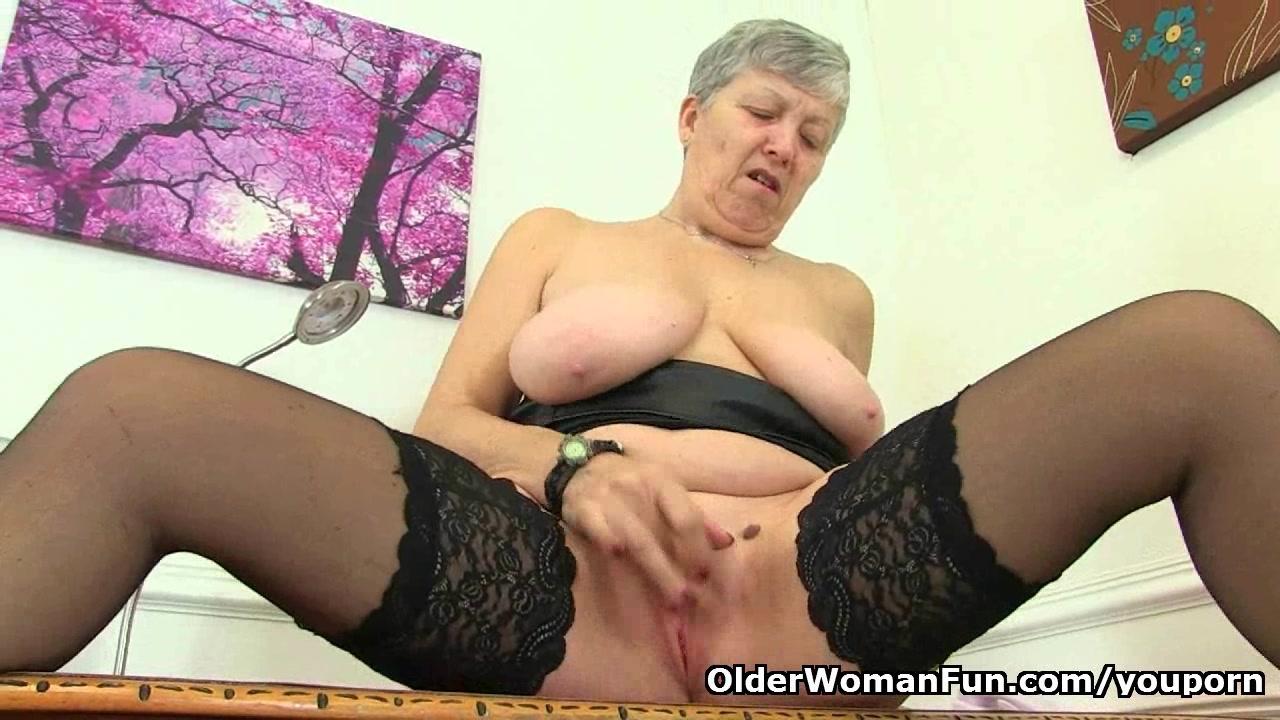 Naked mature liegh