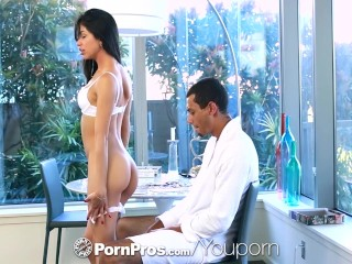 PornPros - Fiery latina Veronica Rodriguez takes a loads of cum
