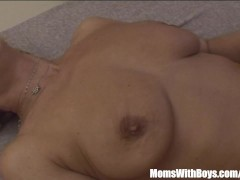Picture Sexy Blonde Granny In Laced Stockings Fucks...