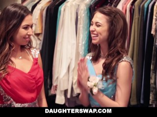 DaughterSwap- Dads Swap And Fuck Teen Daughters On Prom Night