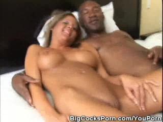 Big Cock Bangin' A Tight Twat