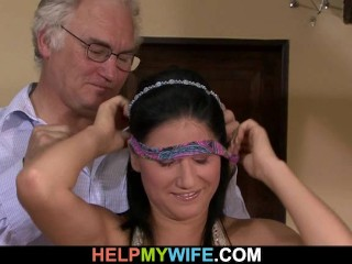 He bangs his hot wife for money