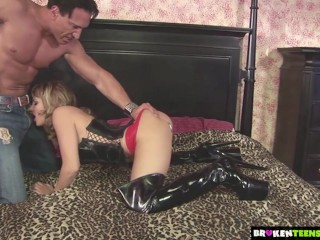 BrokenTeens - Lexi Love's Pussy and Ass Get Destroyed