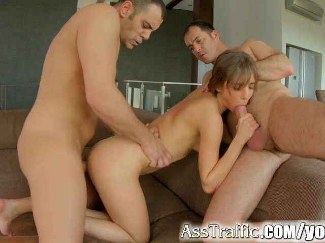 Tina Hot Anal Threesome