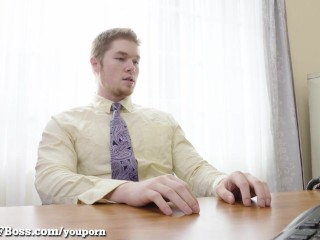 Seductive MILF Boss Fucks Her Pervy Employee!