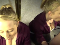 Picture Double Vision -A Hot Blonde Wife s Dripping...