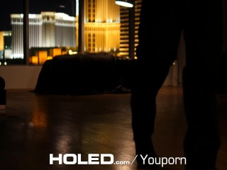 HOLED - Sultry Marley Brinx hot candle wax play and anal - New Site