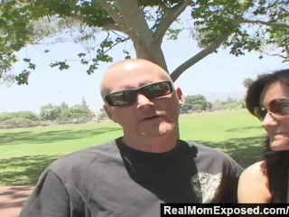 RealMomExposed - He Watches as His Wife Gets Fucked