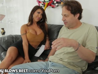 MommyBlowsBest Big Tits MILF Seduces Best Friend's Husband
