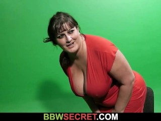 He cheats with busty plumper bitch