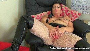 British milf porno video