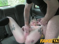 Picture FakeTaxi Scottish lass rides big cock