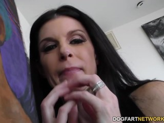 India Summer huge black cock Asshole fuck with Dredd