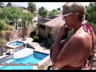 Claudia Marie Big Tit Summer