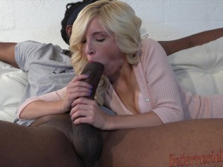 Small Piper takes 12 inch biggest ebony slut penis!