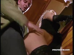 Picture Silvia Saint Sucks a Cock at a Party While E...