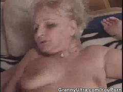 Picture Granny Gets Banged After She Sucked Cock