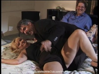 Interracial Anal Threesome With BBC