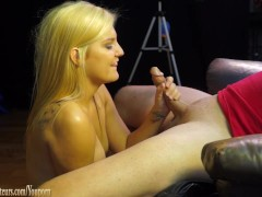 Picture Casting couch amateur Bailey fucked like a s...