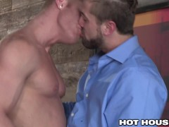 Picture HotHouse CockSucking Delivery Hunk Gets Fuck...