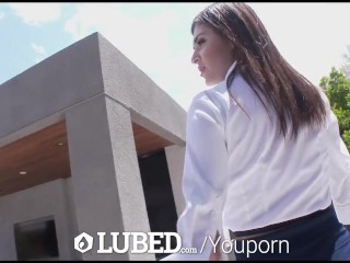 LUBED - Real estate agent Leah Gotti fucks in 60fps