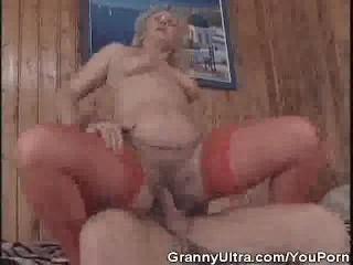 Sweet Granny Gets Banged Hard