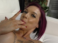 Picture MILF Anna Bell Peaks Milking a Cock