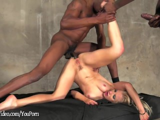 Blacks/on/cocks facials banged with by