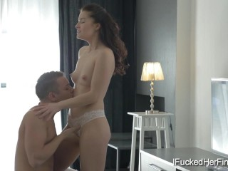Olya finally gets fucked by her best friend's brother