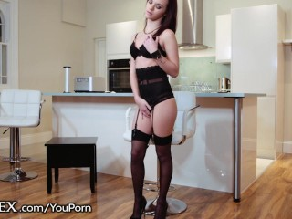 DaringSex French Teen Cummed on By Big Cock