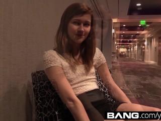 BANG Real Teens: Amateur Alaina Bangs One Out
